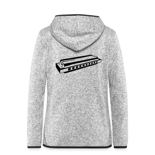 Harmonica - Women's Hooded Fleece Jacket