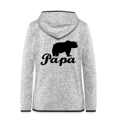 papa beer - Vrouwen hoodie fleecejack