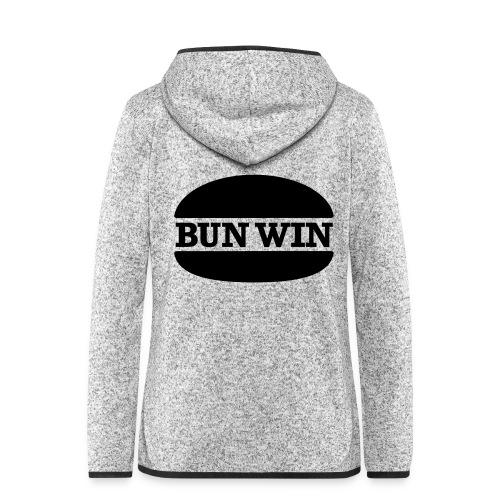 bunwinblack - Women's Hooded Fleece Jacket