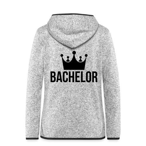 bachelor king - Vrouwen hoodie fleecejack