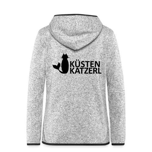 Küstenkatzerl - Frauen Kapuzen-Fleecejacke