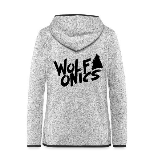 Wolfonics - Frauen Kapuzen-Fleecejacke