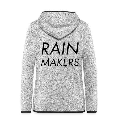 rainmakertext - Naisten hupullinen fleecetakki