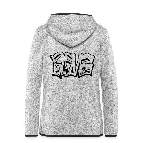 Rave graffiti - Women's Hooded Fleece Jacket