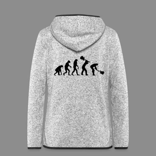 Evolution Rock - Chaqueta de forro polar con capucha