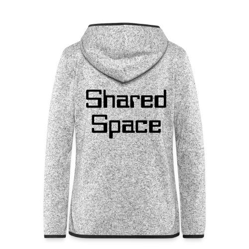 Shared Space - Frauen Kapuzen-Fleecejacke