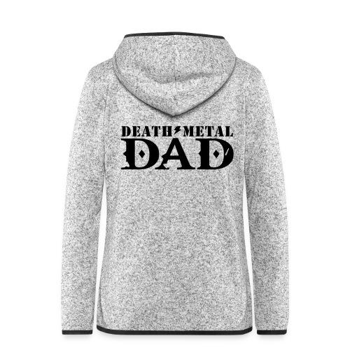 death metal dad - Vrouwen hoodie fleecejack