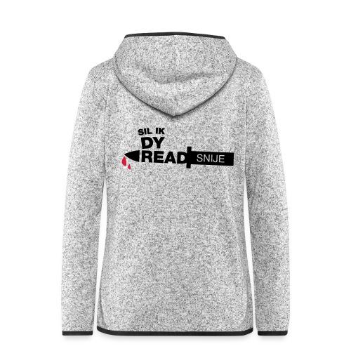 Read snije - Vrouwen hoodie fleecejack