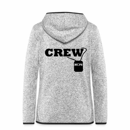 KON - Crew - Frauen Kapuzen-Fleecejacke