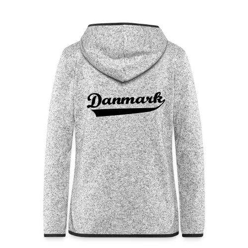 Danmark Swish - Dame hætte-fleecejakke