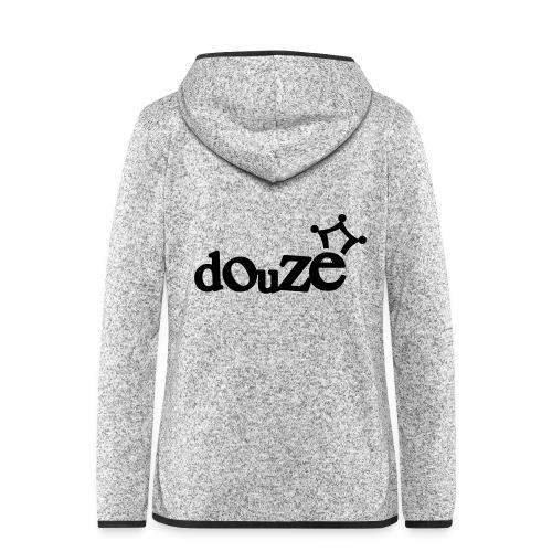logo_douze - Veste à capuche polaire pour femmes