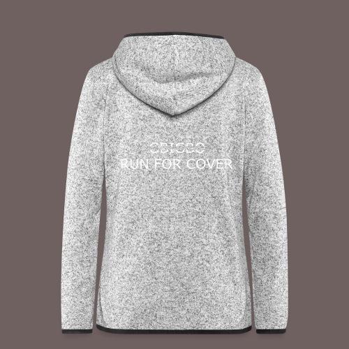 GBIGBO zjebeezjeboo - Tranches - Run For Cover - Veste à capuche polaire pour femmes