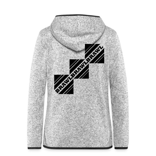 BRAWL TEST - Vrouwen hoodie fleecejack