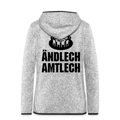 Amtl. bew. Meistershirt - Frauen Kapuzen-Fleecejacke