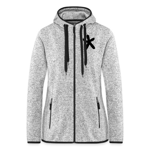 Wills Cwtch Hoodie, with a star on the front and - Women's Hooded Fleece Jacket
