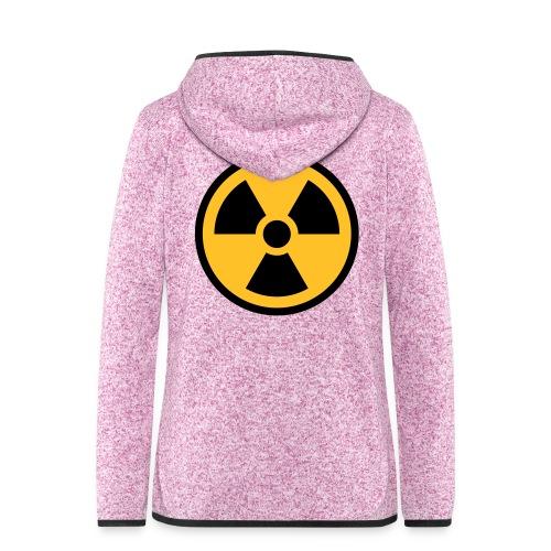nucleaire rond - Veste à capuche polaire pour femmes