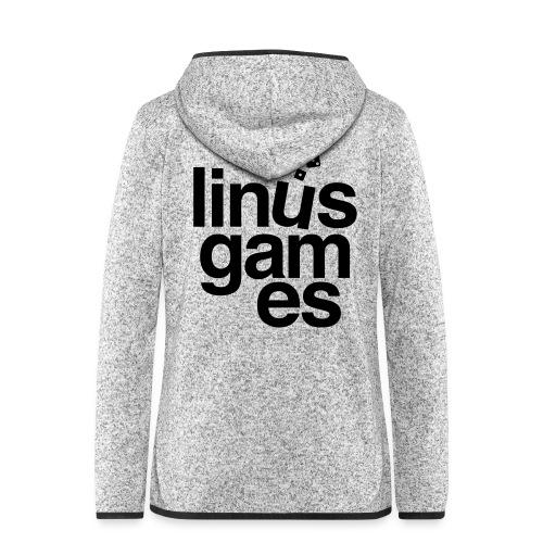 T-shirt uomo Linus Games - Giacca di pile con cappuccio da donna