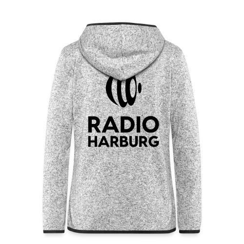 Radio Harburg - Frauen Kapuzen-Fleecejacke