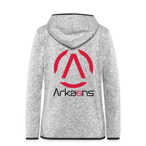 Arkaans Global - Veste à capuche polaire pour femmes