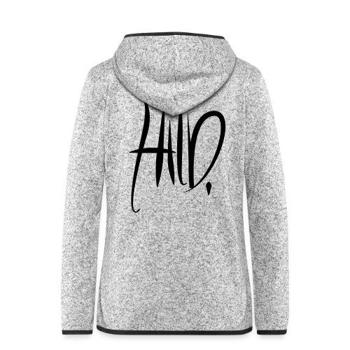 hild3 - Veste à capuche polaire pour femmes