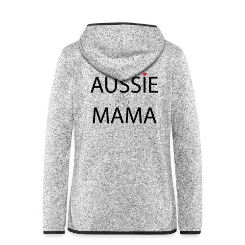 Aussie Mama - Frauen Kapuzen-Fleecejacke