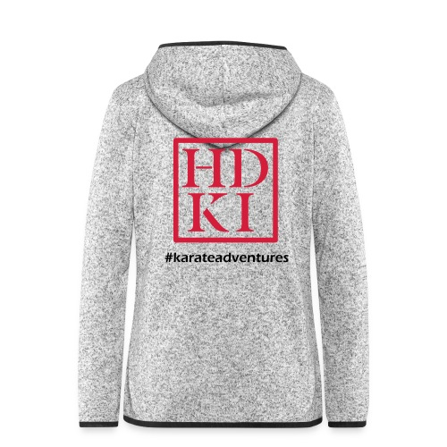 HDKI karateadventures - Women's Hooded Fleece Jacket