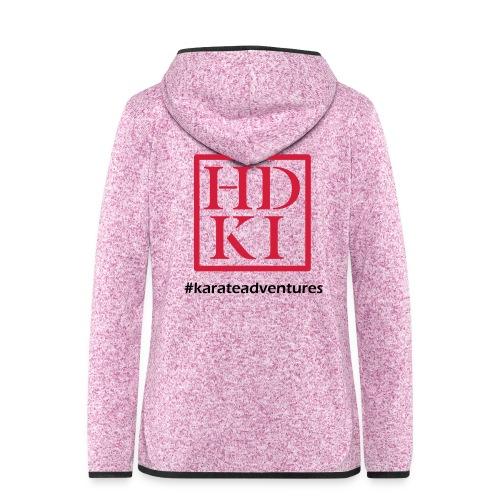 HDKI karateadventures - Women's Hooded Fleece Jacket