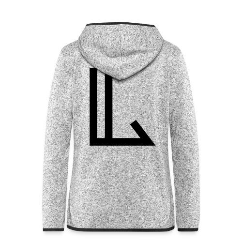 L - Women's Hooded Fleece Jacket