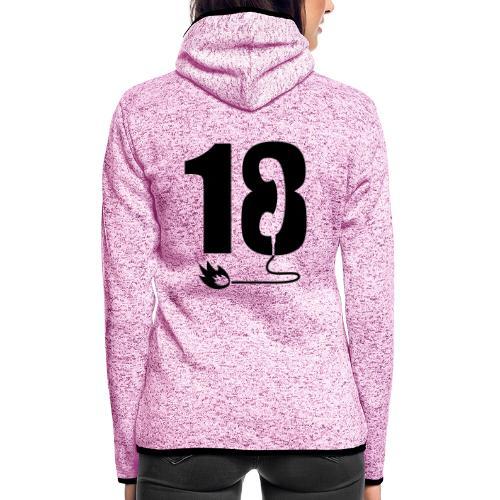 18 - Veste à capuche polaire pour femmes