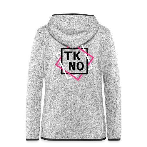 TKNO - Frauen Kapuzen-Fleecejacke