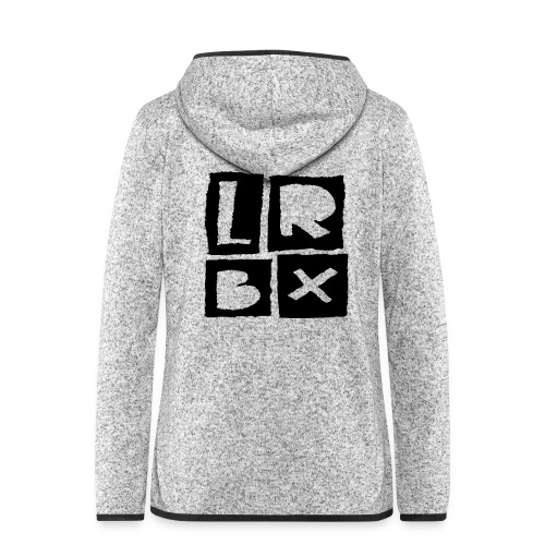 LRBX - La Roulette Bruxelles - Longboard - Veste à capuche polaire pour femmes