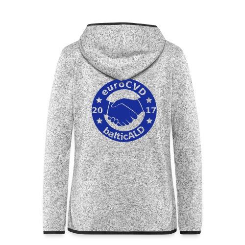 Joint EuroCVD - BalticALD conference mens t-shirt - Women's Hooded Fleece Jacket