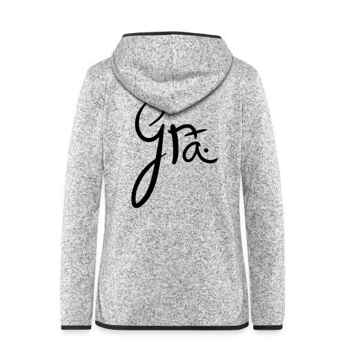 logo-trans-ai - Vrouwen hoodie fleecejack