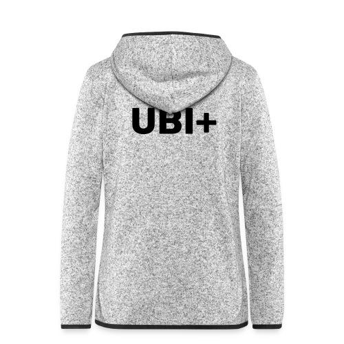 UBI+ - Women's Hooded Fleece Jacket
