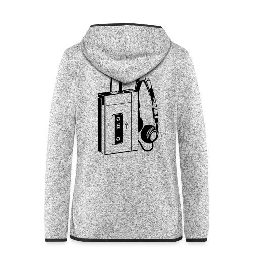 WALKMAN - Veste à capuche polaire pour femmes