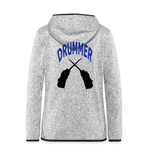 drummer - Veste à capuche polaire pour femmes