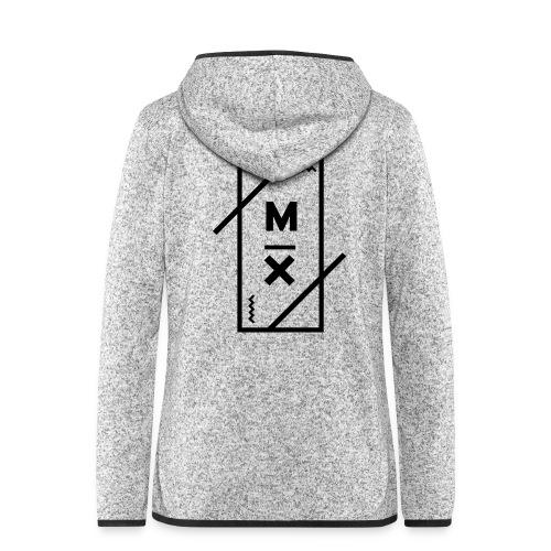 MX_9000 - Vrouwen hoodie fleecejack