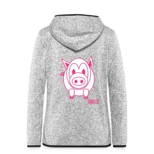 knorre - Vrouwen hoodie fleecejack