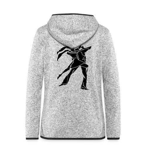dancesilhouette - Women's Hooded Fleece Jacket