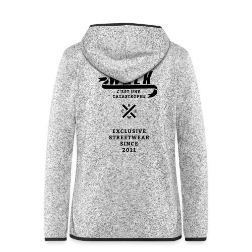 varsityx04 - Vrouwen hoodie fleecejack