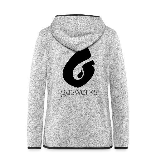 Gasworks Logo Tee - Women's Hooded Fleece Jacket