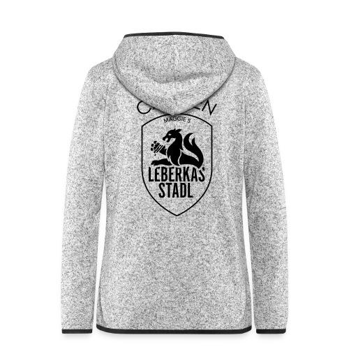 carmen logo - Frauen Kapuzen-Fleecejacke