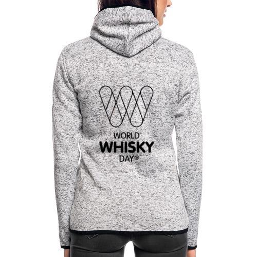 WWD logo - Women's Hooded Fleece Jacket