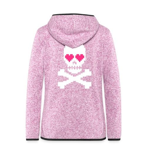 Skull Love - Vrouwen hoodie fleecejack