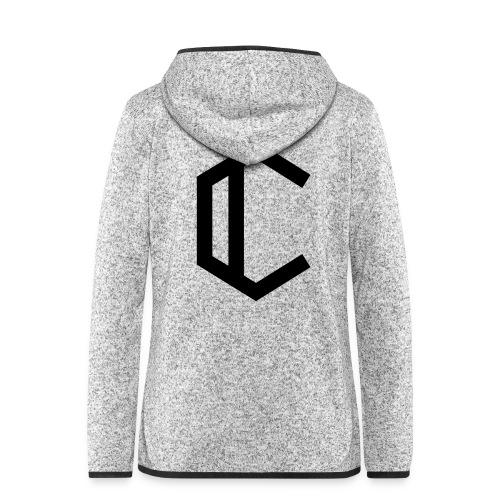 C - Women's Hooded Fleece Jacket