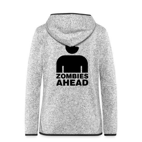 Zombies Ahead - Fleeceluvjacka dam