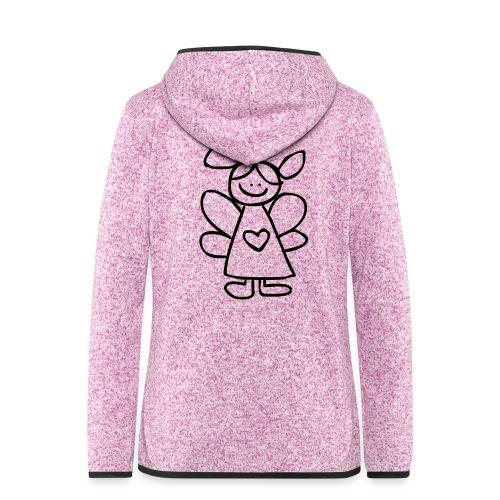 belinda's engeltje - Vrouwen hoodie fleecejack