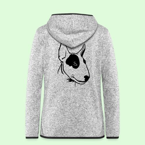 Bull Terrier - Veste à capuche polaire pour femmes