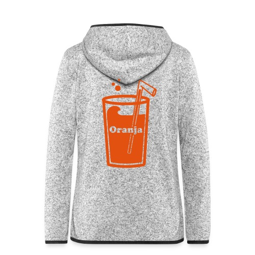 Oranja - Vrouwen hoodie fleecejack