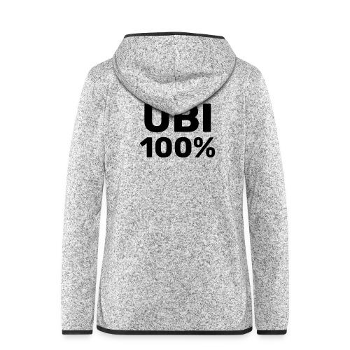 UBI 100% - Women's Hooded Fleece Jacket